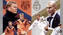 Ronald Koeman und Zinédine Zidane sind wahre Clásico-Experten