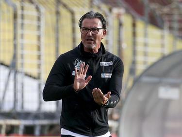 Ried-Trainer Gerald Baumgartner