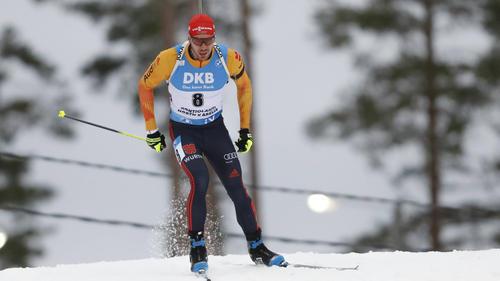 Arnd Peiffer raste auf den siebten Platz