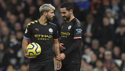 Sergio Agüero und Ilkay Gündogan spielen zusammen bei Manchester City