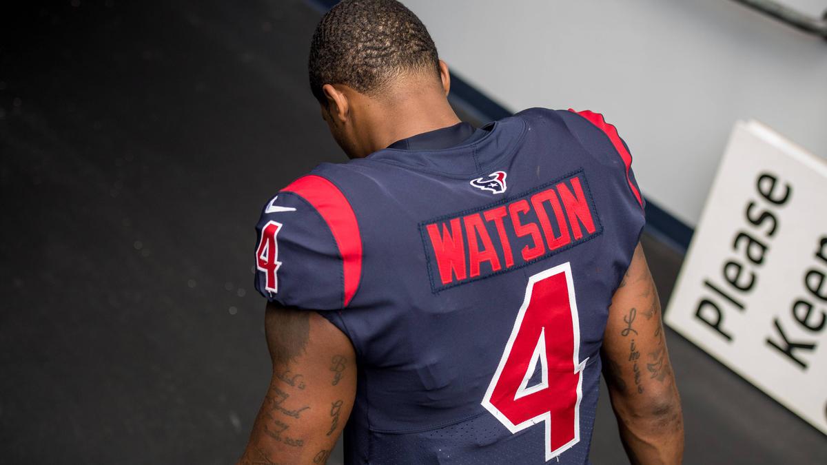 Gegen NFL-Star Deshaun Watson wird ermittelt
