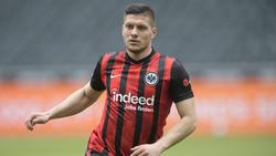 Luka Jovic verlebte bei Eintracht Frankfurt seine erfolgreichste Zeit