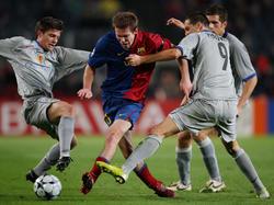 CL 2008/09: Barca scheitert am Baseler Bollwerk