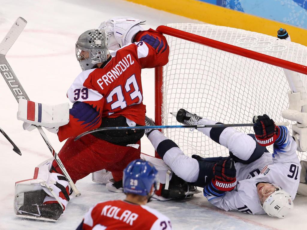 Die USA sind im olympischen Viertelfinale an Tschechien gescheitert