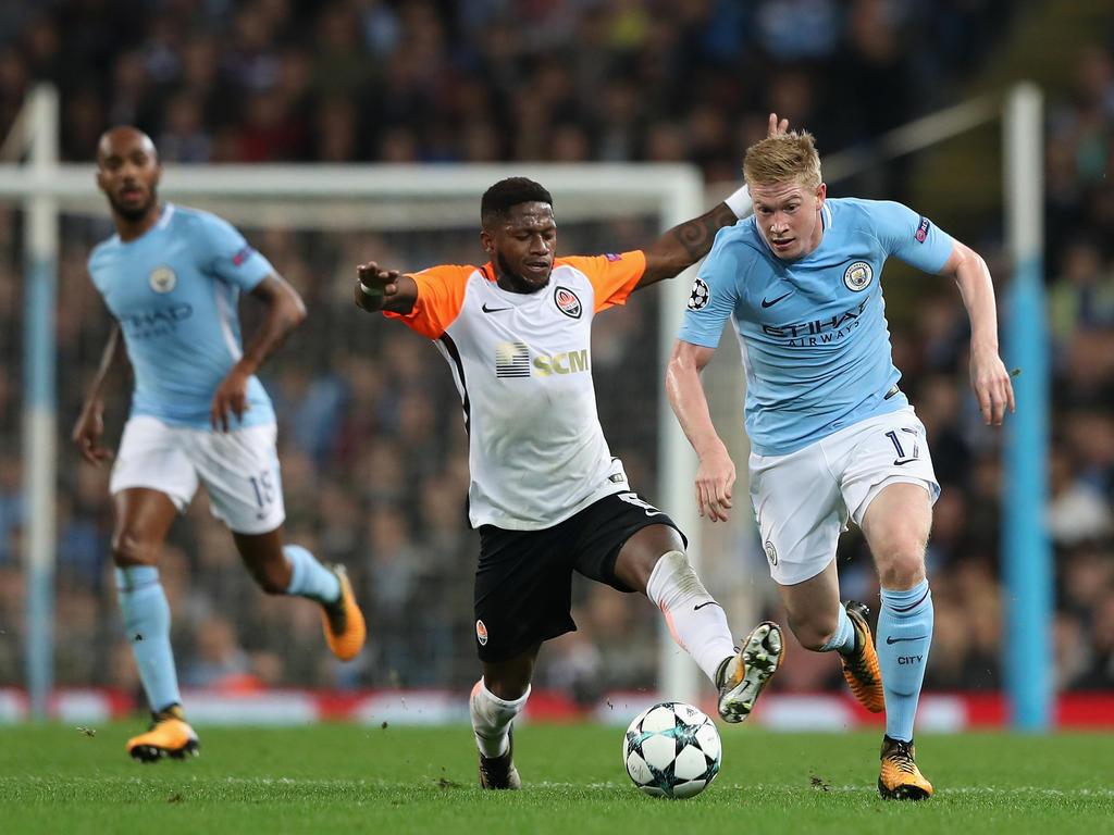 Fred (M.) ist weiterhin Thema bei Manchester City