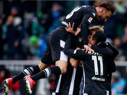 Die Gladbacher feierten gegen Hoffenheim endlich wieder ein Erfolgserlebnis
