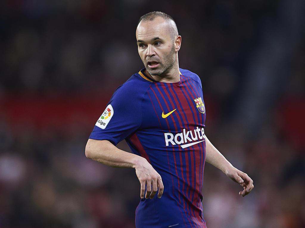 Andrés Iniesta wird Barca wohl am Ende der Saison verlassen