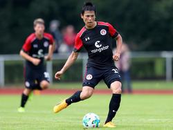 Von Verletzungspech geplagt: Ryo Miyaichi vom FC St. Pauli