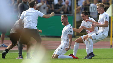 SSV Ulm 1846 wirft Titeltverteidiger Eintracht Frankfurt aus dem DFB-Pokal