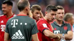 Robert Lewandowski spricht über Zukunft beim FC Bayern