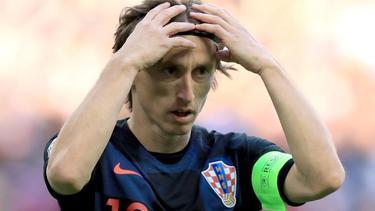 Luka Modric und Kroatien unterliegen mit 1:2 gegen Ungarn