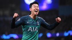 Heung-min Son will auch im Champions-League-Finale gegen Jürgen Klopp treffen