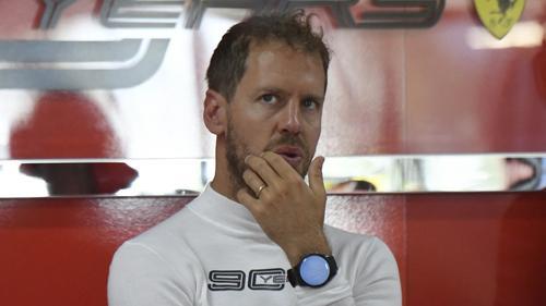 Sebastian Vettel wartet seit zehn Monaten auf einen Sieg