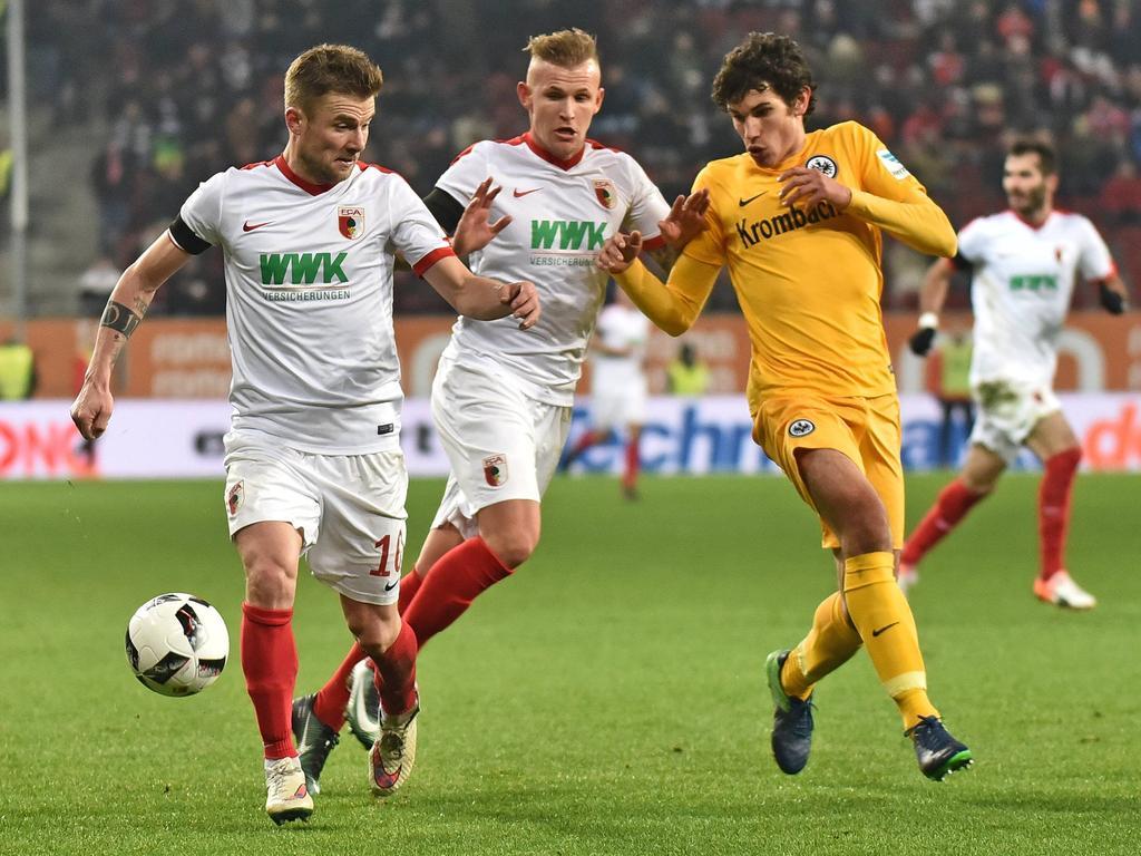 Der FC Augsburg und Eintracht Frankfurt trennen sich 1:1-Unentschieden