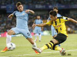 Pablo Maffeo en la pretemporada en 2016 con el City. (Foto: Getty)