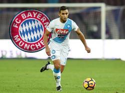 Faouzi Ghoulam soll ein Kandidat für den FC Bayern München sein