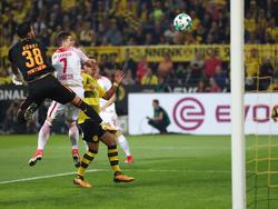 Borussia Dortmund und RB Leipzig lieferten sich einen heißen Fight