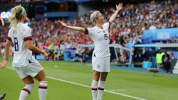 Megan Rapinoe war die Matchwinnerin für die USA