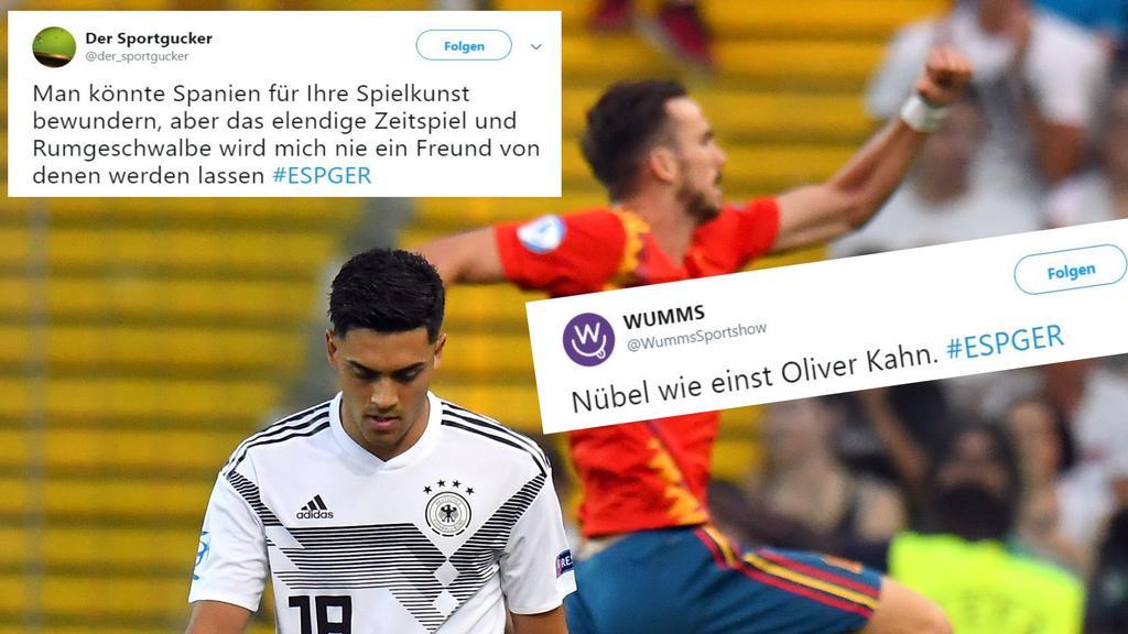Deutschland Vs Spanien U21