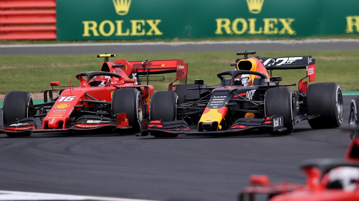 Charles Leclerc und Max Verstappen lieferten in Silverstone eine Wahnsinns-Show