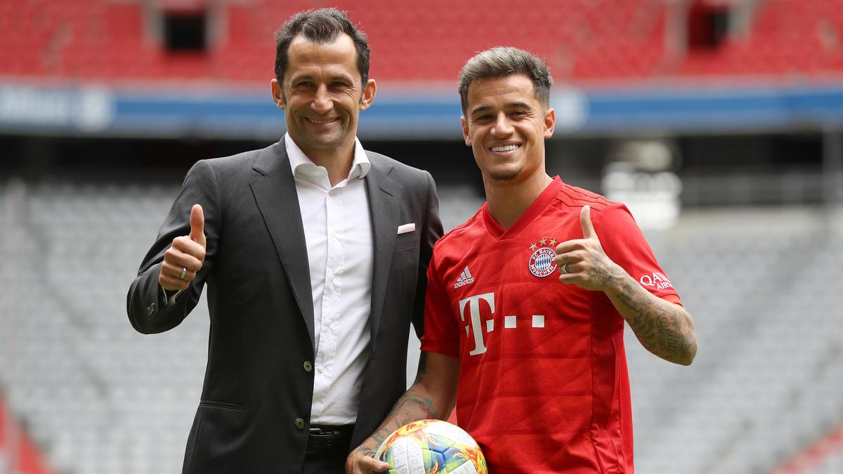 Der FC Bayern präsentierte Coutinho als Königstransfer