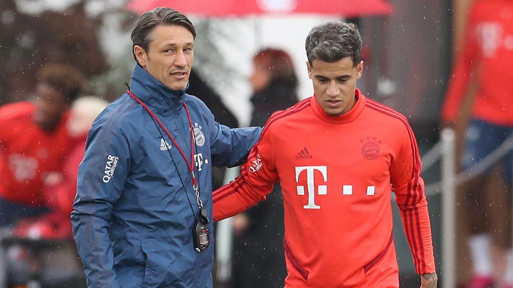 Niko Kovac und Philippe Coutinho wollen beim FC Bayern zusammen Erfolge feiern