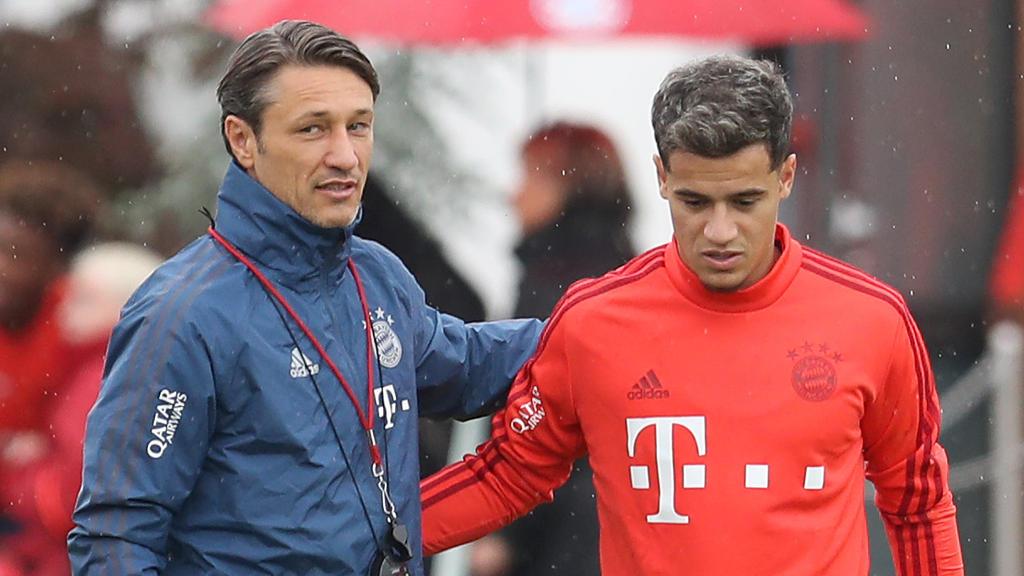 Neuzugang Philippe Coutinho wird gegen Schalke nicht in der Startelf stehen