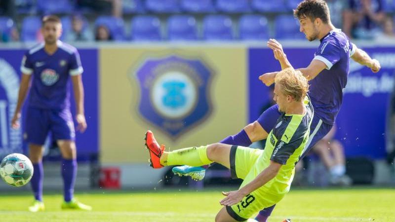 Erzgebirge Aue schlägt den VfL Osnabrück