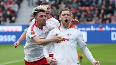 Emil Forsberg und Kevin Kampl haben RB Leipzig zuletzt gefehlt