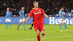 Erling Haaland von RB Salzburg ist derzeit heiß begehrt