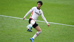 Daichi Kamada steht bei Eintracht Frankfurt vor einer ungewissen Zukunft