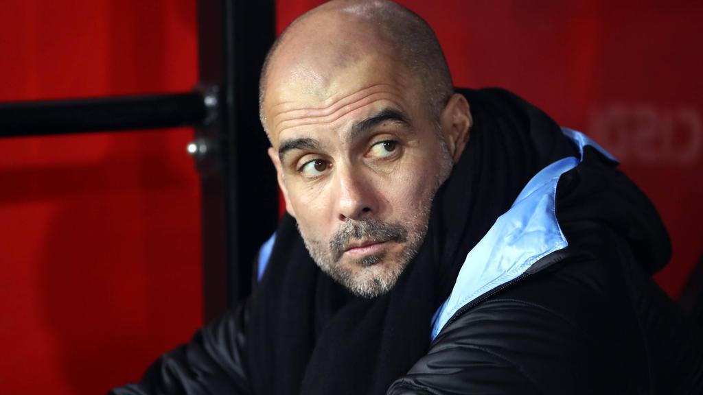 Pep Guardiola trainierte den FC Bayern bereits von 2013 bis 2016