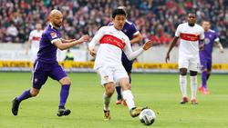 Wataru Endo spielt derzeit noch auf Leihbasis beim VfB Stuttgart
