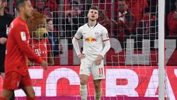 Timo Werner blieb torlos gegen den FC Bayern