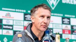 Nicht mit Innensenator Mäurer einer Meinung: Werder Bremens Geschäftsführer Frank Baumann