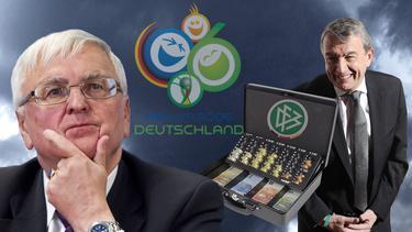 Angeklagt: Theo Zwanziger (l.) und Wolfgang Niersbach (r.)