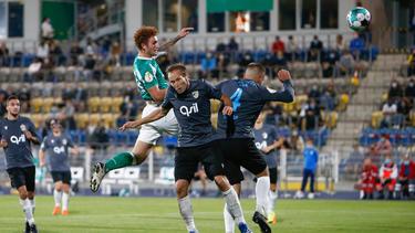 Werder Bremen hat sich gegen Carl Zeiss Jena durchgesetzt