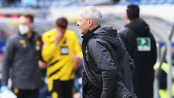 Lucien Favre siegte mit dem BVB in Hoffenheim