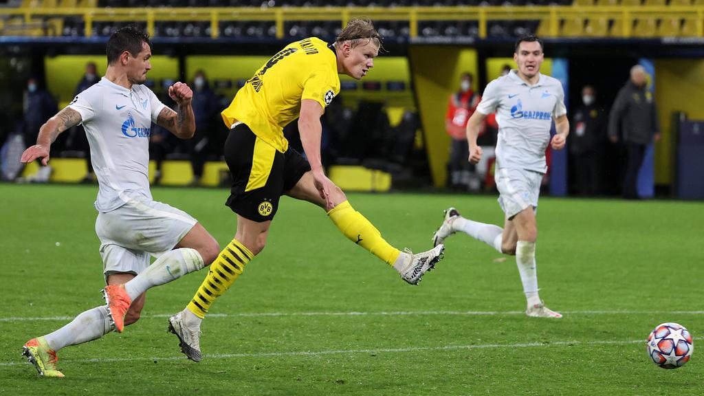 Erling Haaland erzielte den zweiten Treffer für den BVB