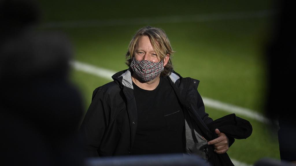 Sven Mislintat führt beim VfB Stuttgart Gespräche über eine Vertragsverlängerung