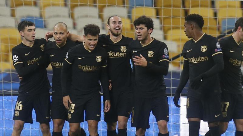 Der FC Barcelona wird gefeiert