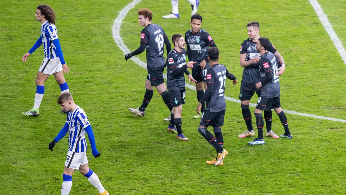 Werder Bremen netzte in Berlin gleich viermal