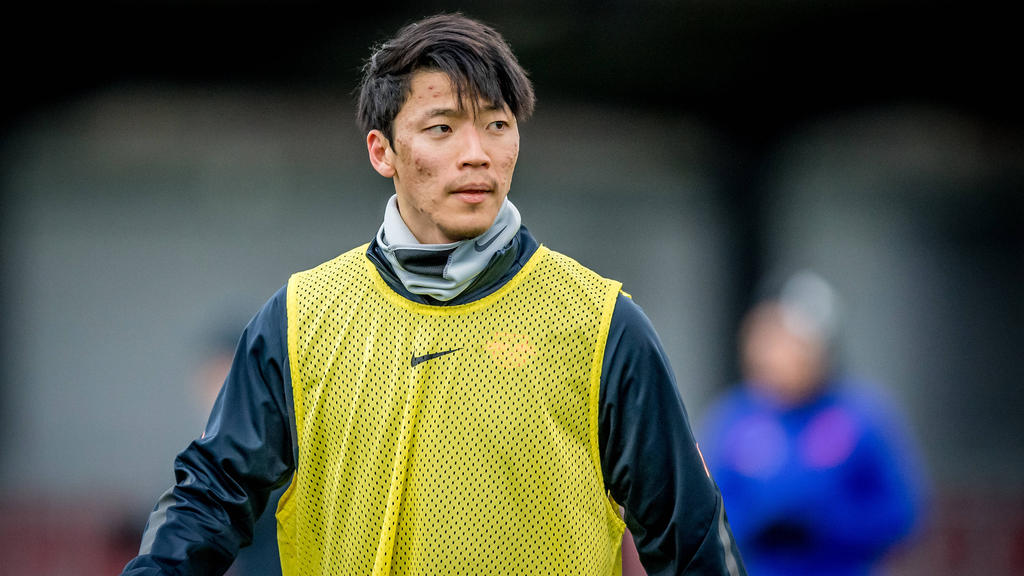 Hee-chan Hwang kommt bei RB Leipzig nur selten zum Einsatz