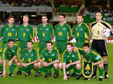 Der Australischen Nationalmannschaft gelang 2001 historisches