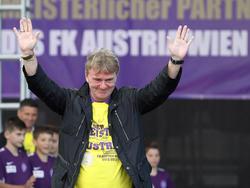 Ogris wird Trainer der Austria-Amateure