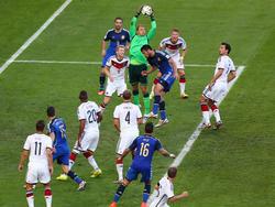WM-Finale 2014: Neuer gewohnt sicher