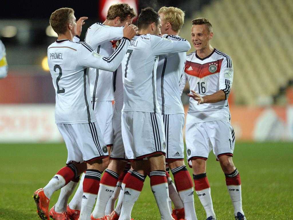 Alemania se medirá con Nigeria en uno de los duelos de octavos de final del Mundial Sub-20. (Foto: Imago)