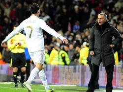 Cristiano Ronaldo, José Mourinho (13.4.2011)