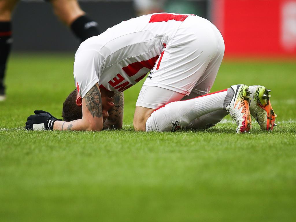Der 1. FC Köln war nach der Klatsche gegen Hoffenheim bedient