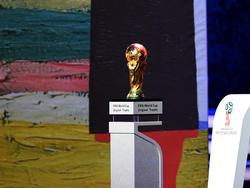 Ab dem 14. Juni steht der WM-Pokal im Mittelpunkt